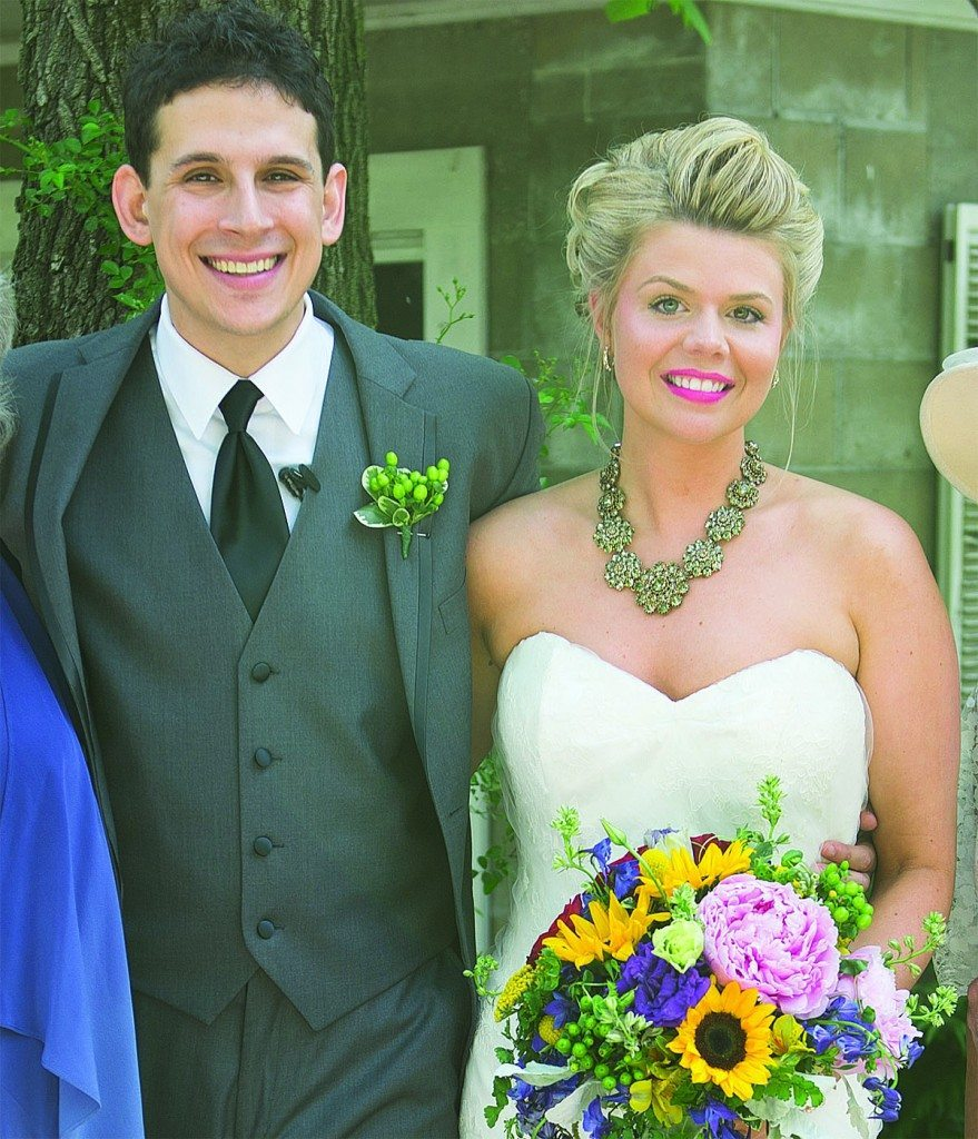 Zach Kolodin '03 and wife Hilary