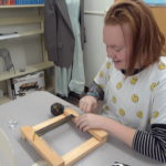 Frame Loom Weaving 2