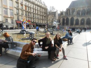 Paris Travelers 2017 – Igor Stravinsky Fountain
