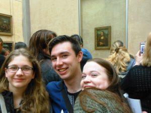 Paris Travelers 2017 – Le Louvre, avec Mona Lisa
