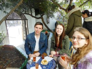 Paris Travelers 2017 – Mint Tea and Pastries at the Grand Mosque